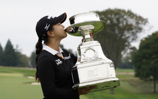 S. Korean Kim Sei-young captures 1st career LPGA major title