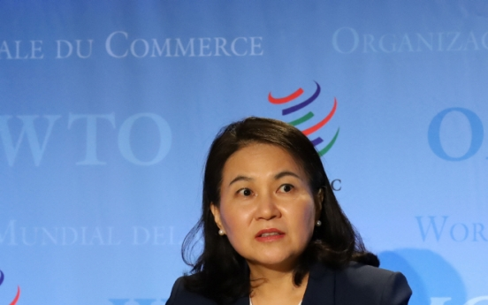 Seoul's top trade official to visit Europe to drum up support her WTO chief race