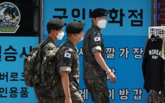 Military lifts vacation ban for troops as govt. eases social distancing scheme