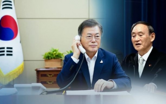 Cheong Wa Dae says S. Korea-Japan summit talks needed to resolve bilateral problem