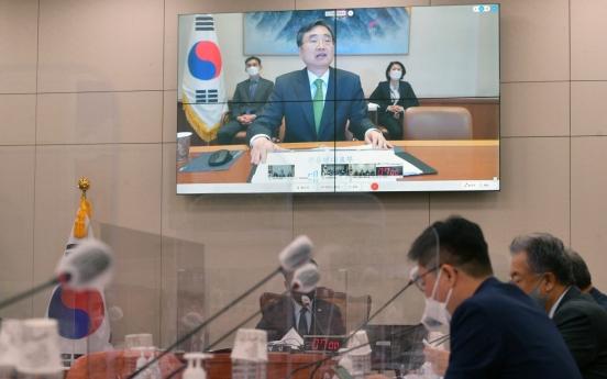 Seoul won't seek end of Korean War without denuclearization: UN envoy