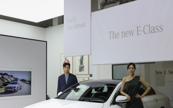 Mercedes-Benz Korea launches best-selling revamped E-Class