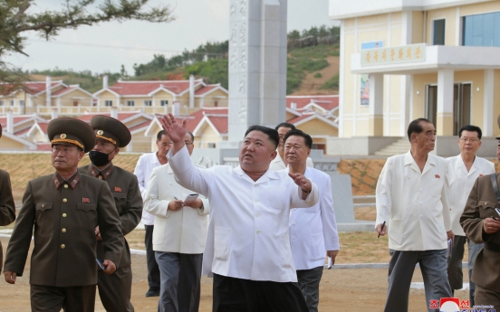 NK says it is recovering from typhoon damage on its own