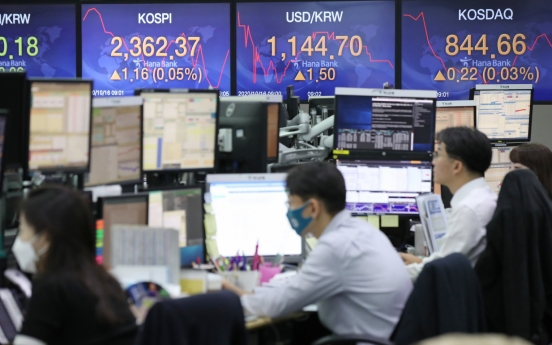 Seoul stocks open lower on COVID-19 jitters