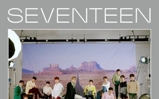 Upcoming album by Seventeen exceeds 1m in presales