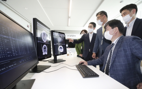 KT collaborates for remote analysis of clinical images