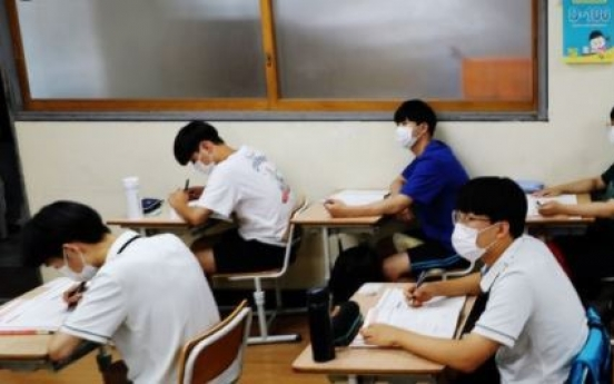 Mandatory masks, no meals together: plans unveiled for safe environment for university entrance exam