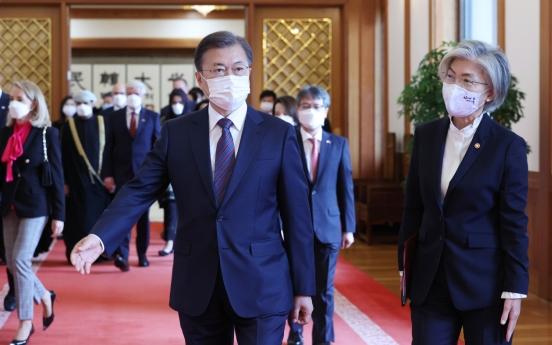 Moon emboldened by S. Korea's digital govt. feat