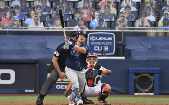 Choi Ji-man strikes out as pinch hitter in Rays' 3rd straight ALCS loss