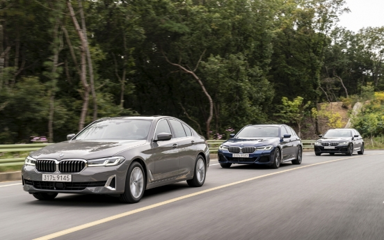 [Behind the Wheel] BMW Korea bids to take back throne with revamped 5, 6 GT Series