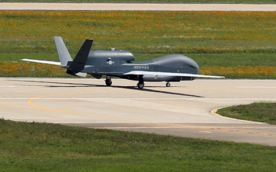 S. Korea to acquire data analyzing system for Global Hawk next month: procurement agency