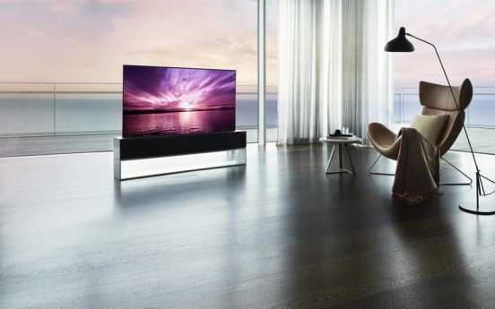 LG Electronics launches rollable TV in S. Korea for 100m won