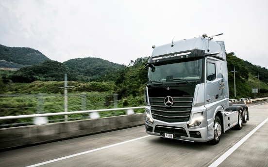 Mercedes-Benz new Actros exhibition, test-drive event runs in 11 regions
