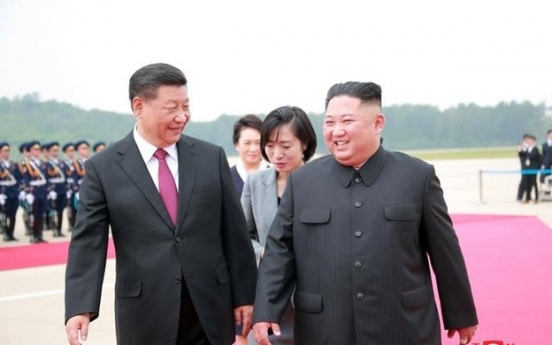 N. Korean leader vows to further develop ties with China