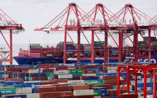 Exports fall 5.8% in first 20 days of October
