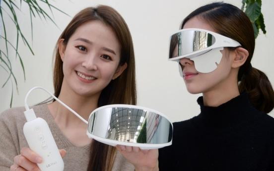 LG Electronics unveils eye skin care device in S. Korea