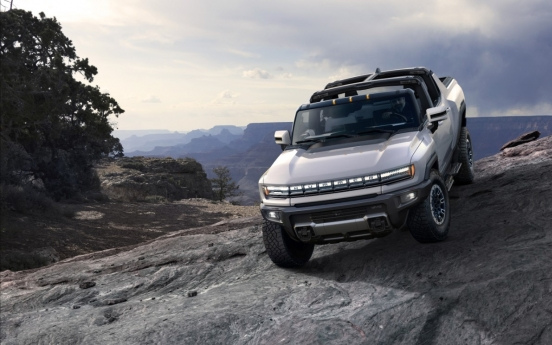 GM introduces first super truck Hummer EV