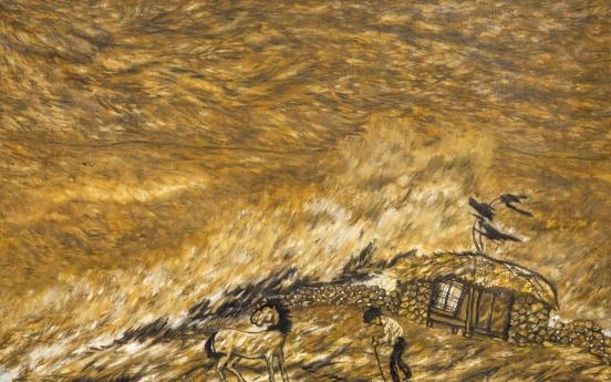 Modern artist Byun Shi-ji offers comfort revealing severe loneliness in paintings