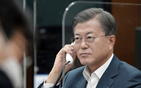 Moon talks with Indian, Danish leaders over race for top WTO post