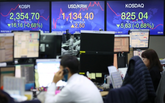 Seoul stocks open sharply lower on tech, auto losses