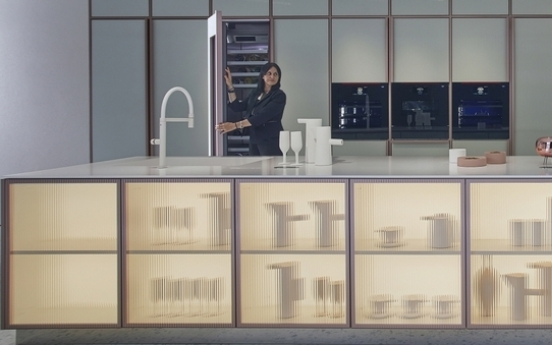 LG opens showroom of luxury built-in kitchen appliance brand in Europe