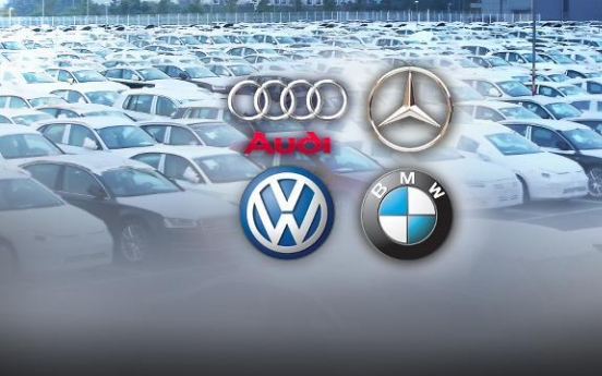 Sales of luxury imported cars hit new record in S. Korea