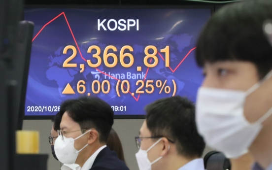 Seoul stocks open higher on US stimulus hopes