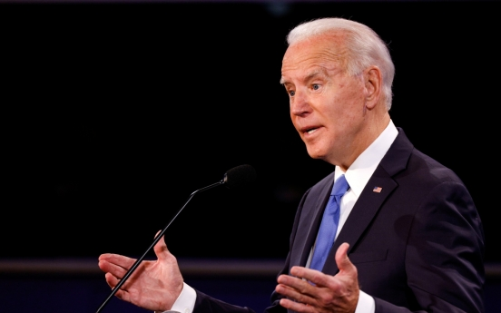 Biden says N. Korea has more 'lethal' missiles because of Trump
