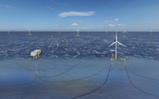 Samsung Heavy to develop floaters for offshore wind turbines