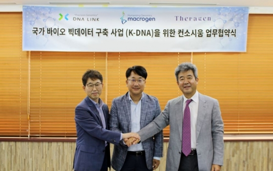 Theragen Bio, Macrogen, DNA Link picked for K-DNA pilot biz