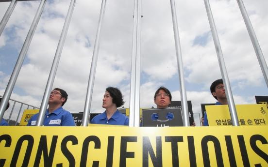 Conscientious objectors begin alternative service at Daejeon jail