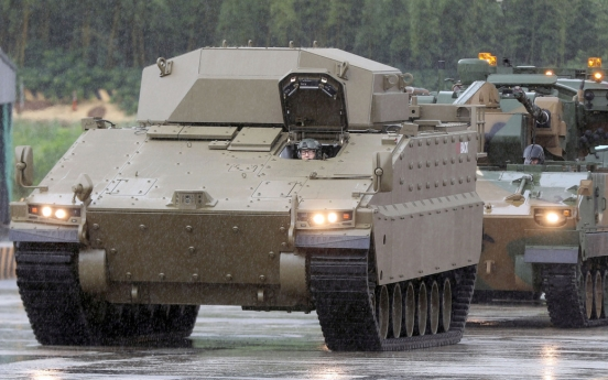 Hanwha ships prototype fighting vehicles to Australia, aims to land W5tr deal