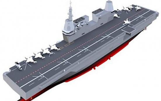 S. Korea begins procedures to develop technologies for light aircraft carrier