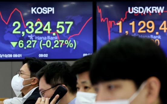Seoul stocks open lower on virus spikes