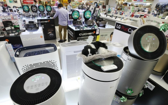 Exports of cleaning appliances soar amid virus outbreak
