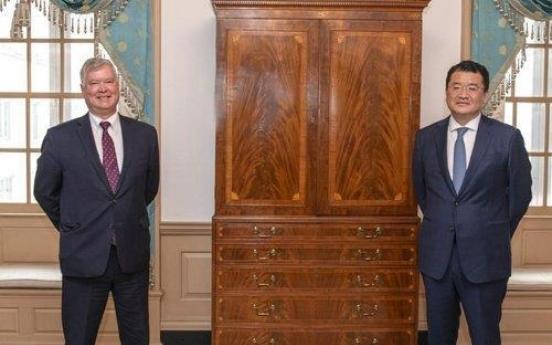 Senior diplomats of S. Korea, US hold phone talks on WTO chief selection