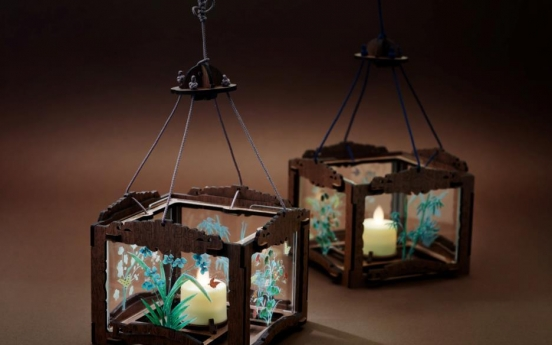 [Photo News] Joseon DIY glass lamp attracts the public