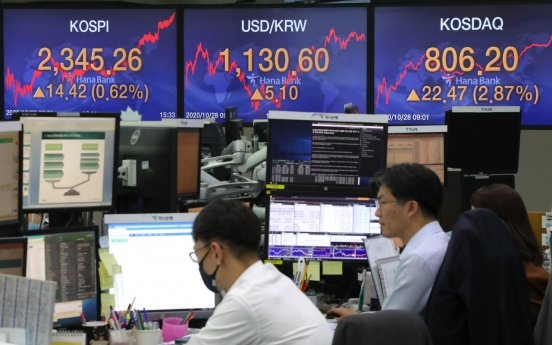 Seoul stocks snap 2-day losing streak on tech gains