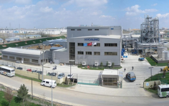 Hyosung T&C invests W60b in Turkey to expand spandex production