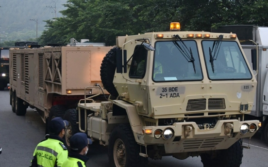 NK accuses Seoul of planning additional THAAD deployment