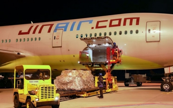 Jin Air becomes first South Korean budget airline to deliver cargo to US