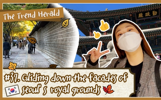 [Video] Gliding down the facades of Seoul's royal grounds