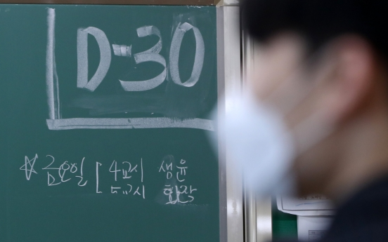 [News Focus] How South Korea plans to keep 500,000 students safe for national college entrance exam