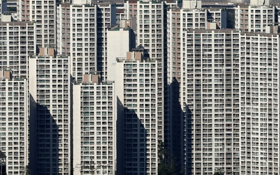 Pricey Gangnam apartments stand out as homeowners' safe haven