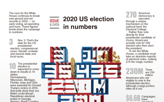 [Graphic News] 2020 US election in numbers