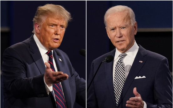 Biden, Trump locked in tight races in battleground states