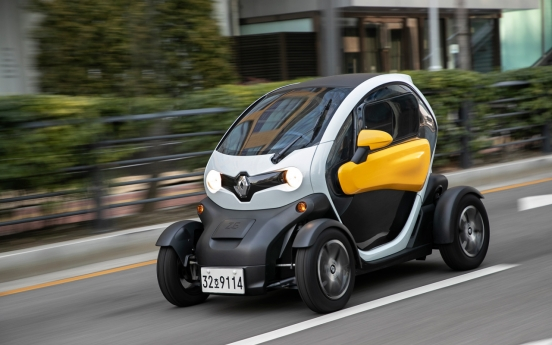 Renault Samsung sponsors ECCK's fundraising race contest with Twizy