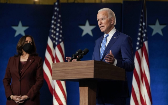 Biden closes in on victory