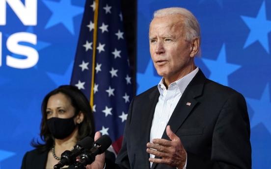 Biden eases ahead in Georgia; Trump attacks election process