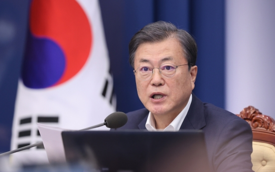Moon vows close communication with Biden, efforts to prevent any 'vacuum' in alliance, Korea peace process
